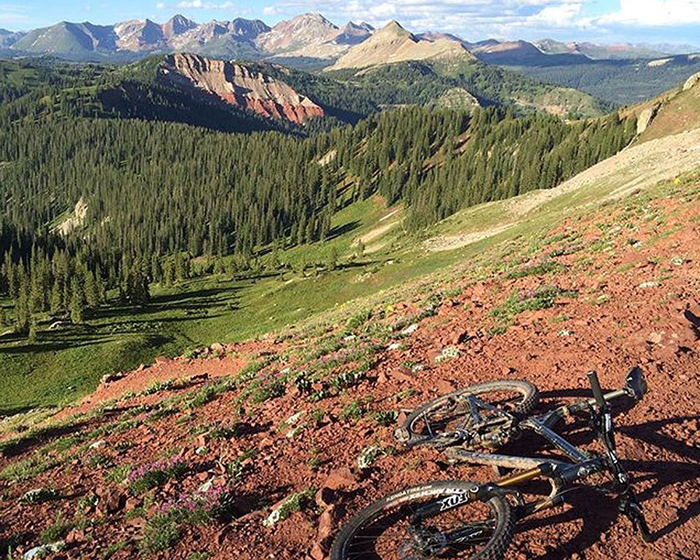 Blackhawk Pass Colorado Trail Rico Colorado Singletrack