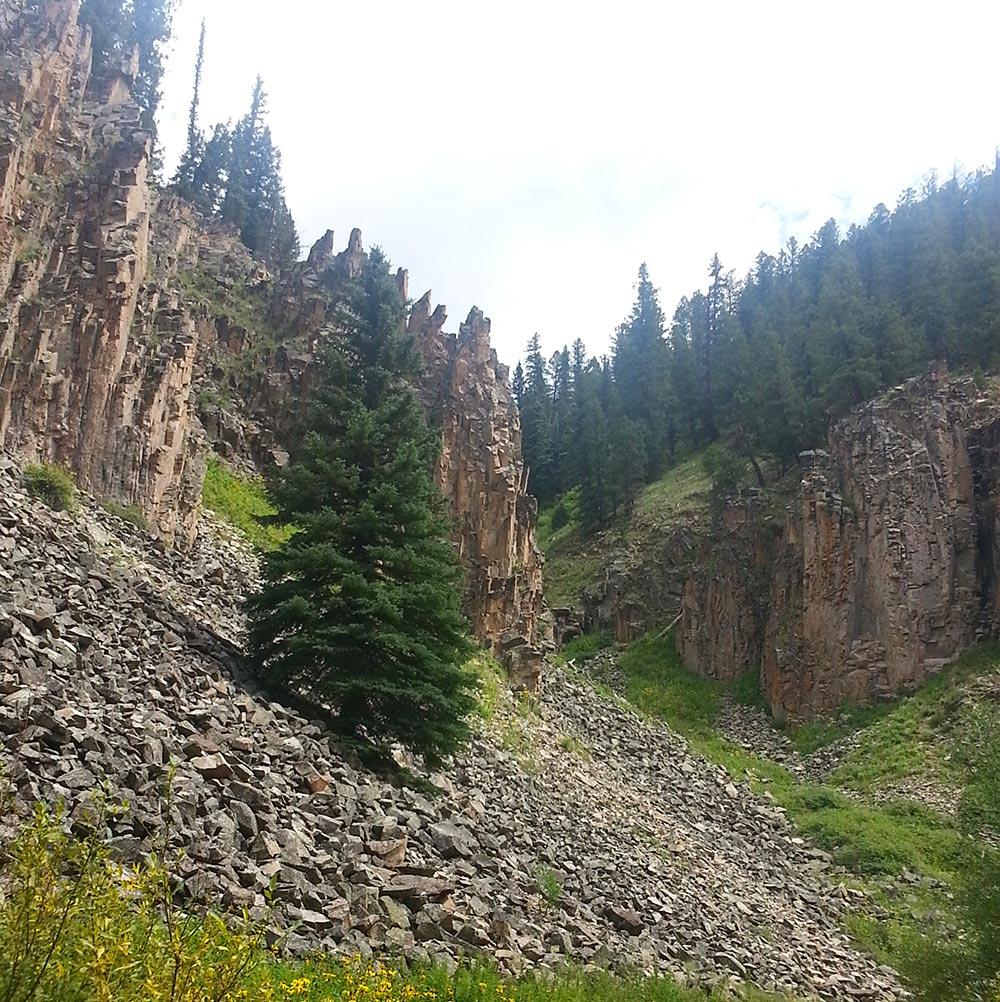 Scotch Creek near Rico, Colorado